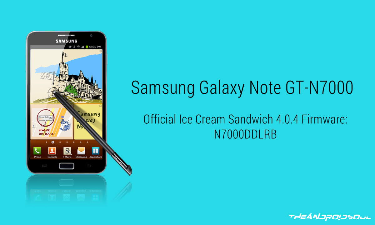How to Downgrade Samsung Galaxy Note GT-N7000 to Android 4 0 4 Ice