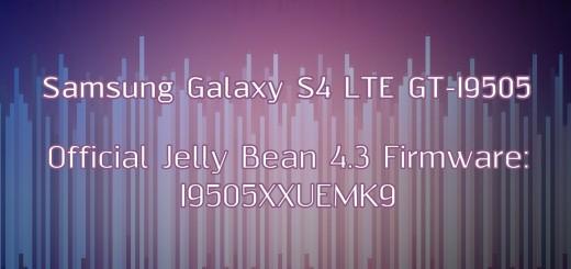 Samsung galaxy s4 LTE stock fw 4.3