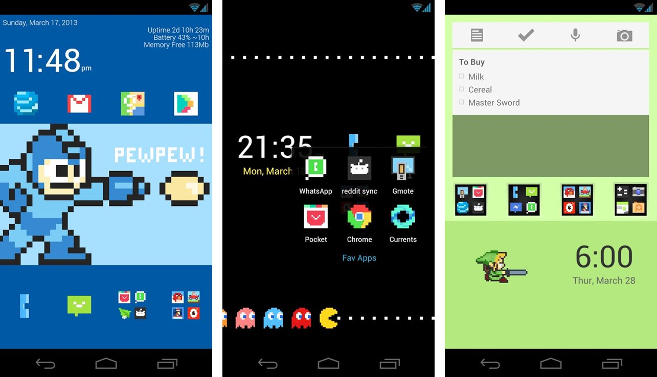 Simply 8-Bit Icon Pack for Android
