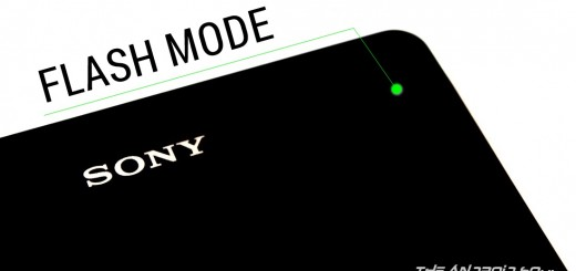 Sony Xperia Flash Mode