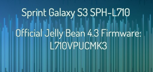 Sprint galaxy s3 stock fw 4.3