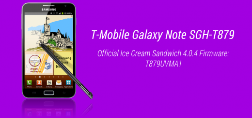 T-Mobile Galaxy Note stock firmware ICS