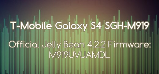 T-Mobile galaxy s4 stock fw