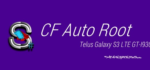 Telus Galaxy S3 LTE CF Auto Root
