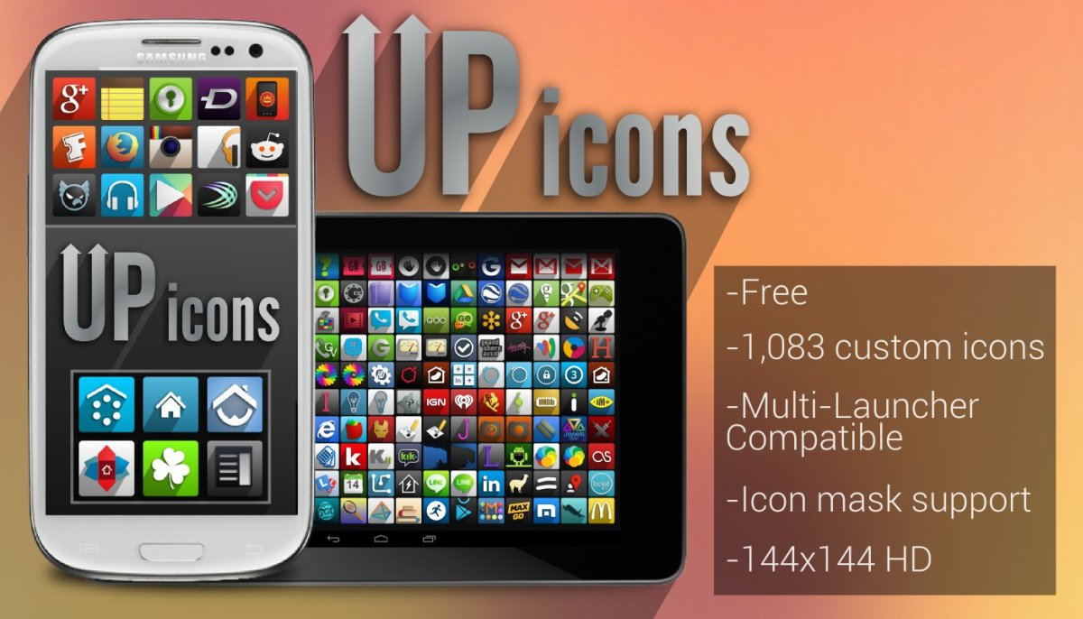 UP Icon Pack for Android