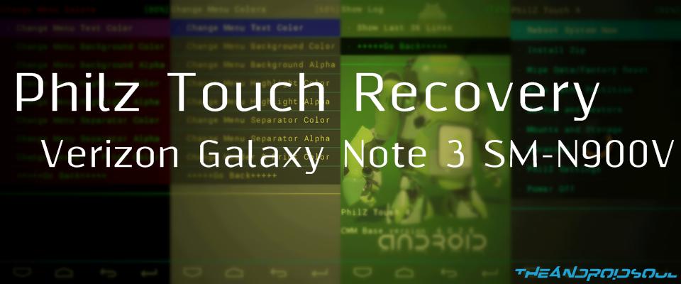 Verizon Galaxy Note 3 Odin