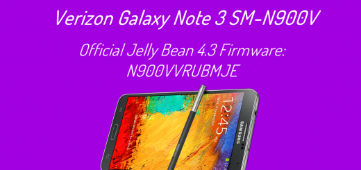 Verizon galaxy note 3 official firmware 4.3