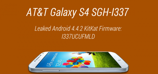 at&t galaxy s4 leaked kitkat fw