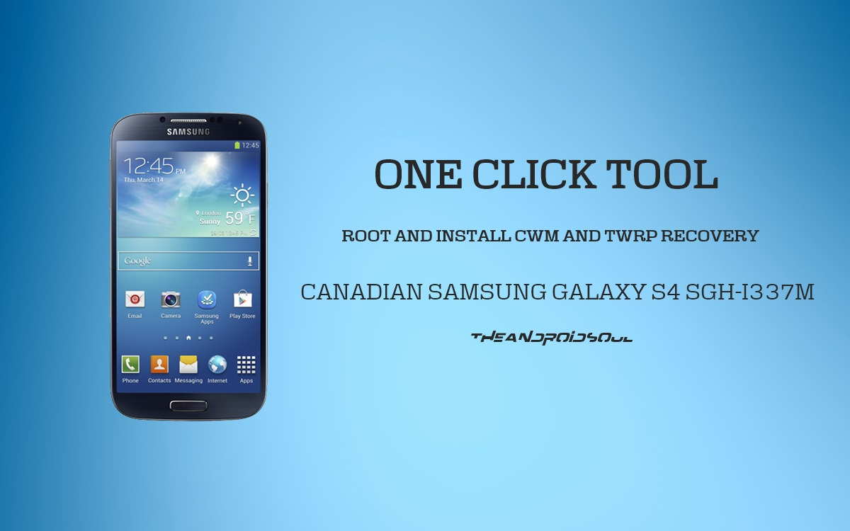 Root Canada Galaxy S4 Sgh I337m And Install Cwm And Twrp Recovery In