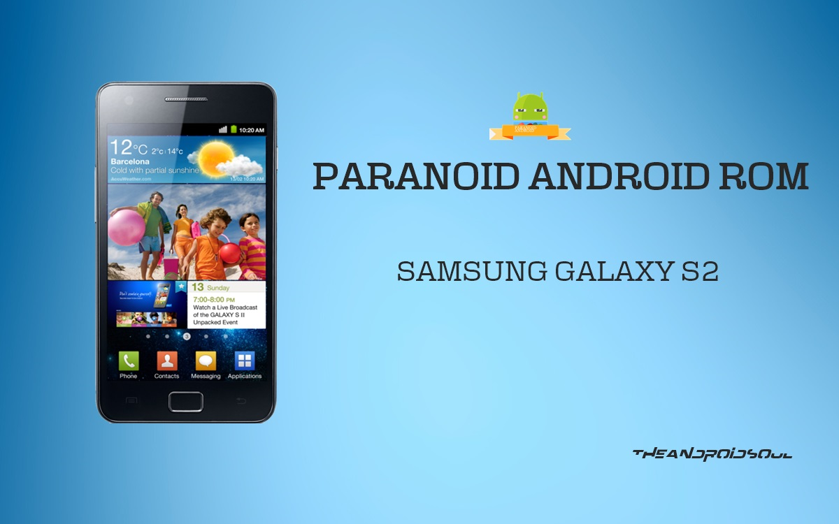 Paranoid Android based on Android 4 4 KitKat Update for Samsung