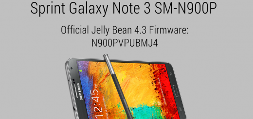 sprint galaxy note 3 official firmware 4.3