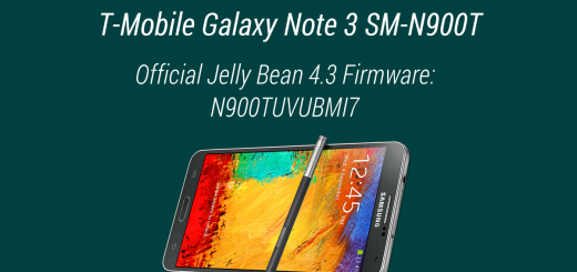 t-mobile galaxy note 3 official firmware 4.3