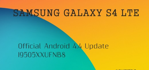 Android 4.4 Galaxy S4 LTE I9505XXUFNB8