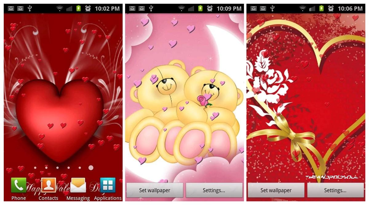 Free Valentines Live Wallpaper