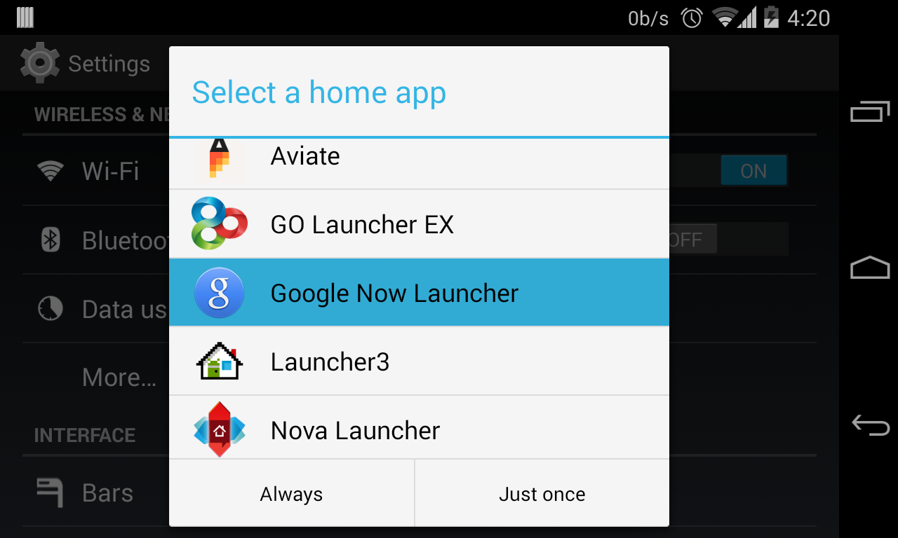 Download Google Now Launcher APK files (Google Home and