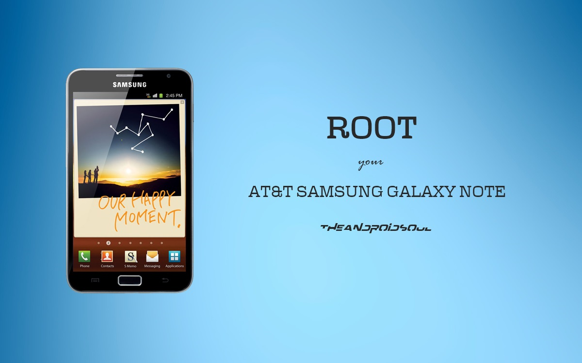 Root AT&T Samsung Galaxy NOTE SGH-I717 with Pre-Rooted ...