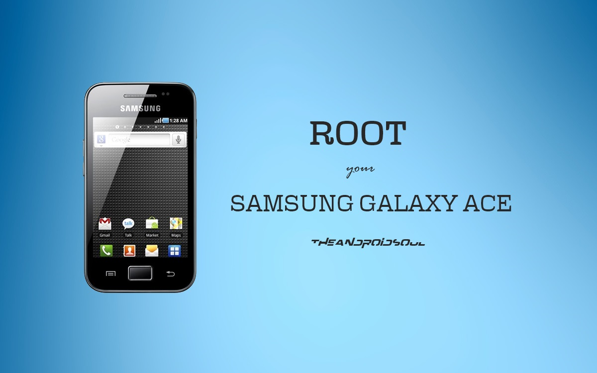 Easily root and unroot samsung galaxy ace gt-s5830 using stock.