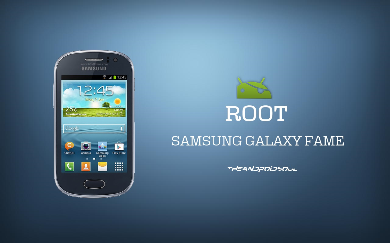 Easily Root Your Samsung Galaxy Fame GT S6810 With