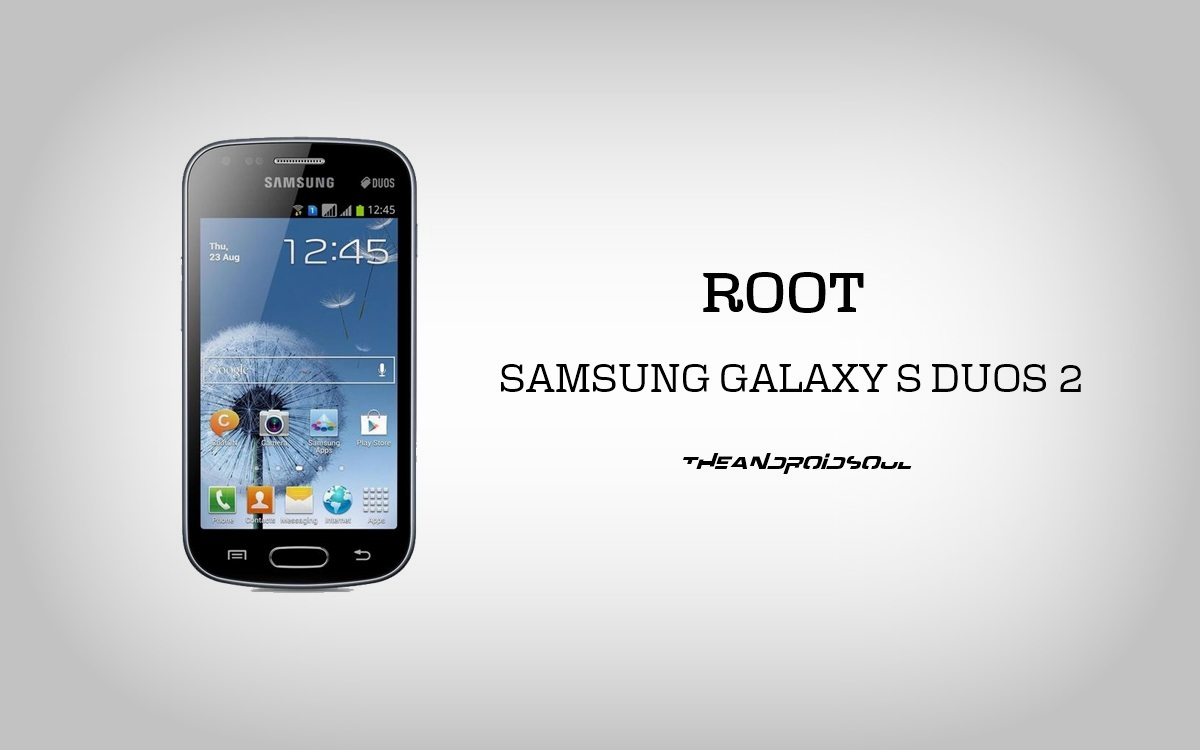 Root Samsung Galaxy S Duos 2 GT-S7582 Using Pre-Rooted Firmware