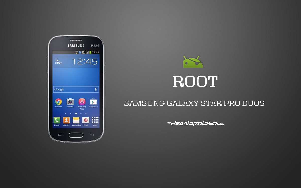 Easily Root Samsung Galaxy Star Pro Duos GT-S7262 With ...