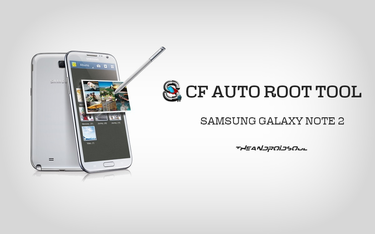 How to root T-Mobile Samsung Galaxy Note 2 T889 using CF-Auto-Root utility: