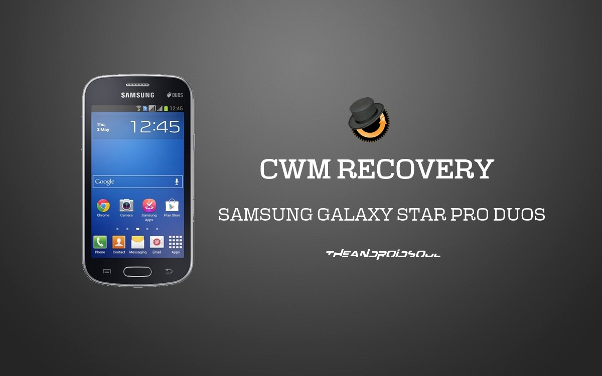 Install CWM Recovery On Samsung Galaxy Star Pro Duos GT-S7262 Using Odin