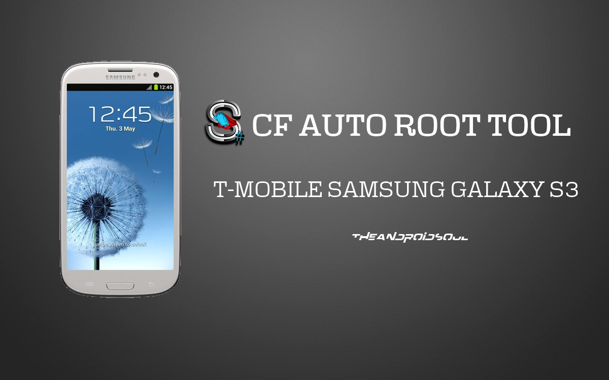 Root T-Mobile Samsung Galaxy S3 SGH-T999 with One Click CF ...