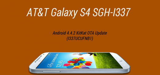 AT&T Galaxy S4 Android 4.4.2 KitKat OTA Update (I337UCUFNB1)