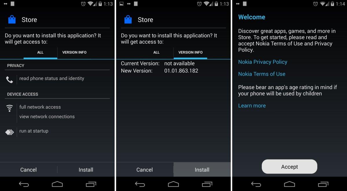 nokia android app store apk