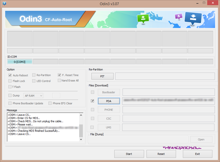 theandroidsoul.com File Added CF Auto Root