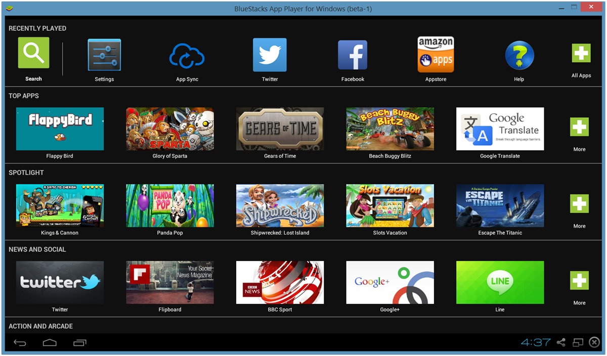 theandroidsoul.com How to Install Android apps on PC using BlueStacks screen1