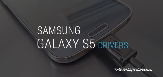 Samsung Galaxy S5 Drivers Installation Guide