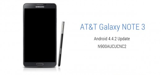 AT&T Galaxy NOTE 3 Android 4.4.2 KitKat OTA Update [N900AUCUCNC2]