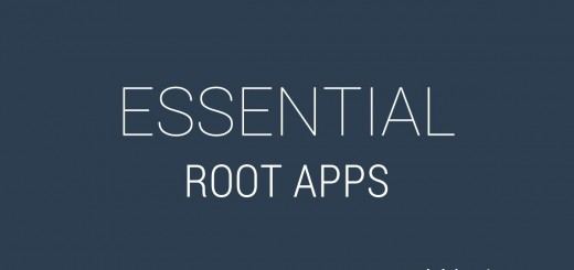 Essential Root Apps