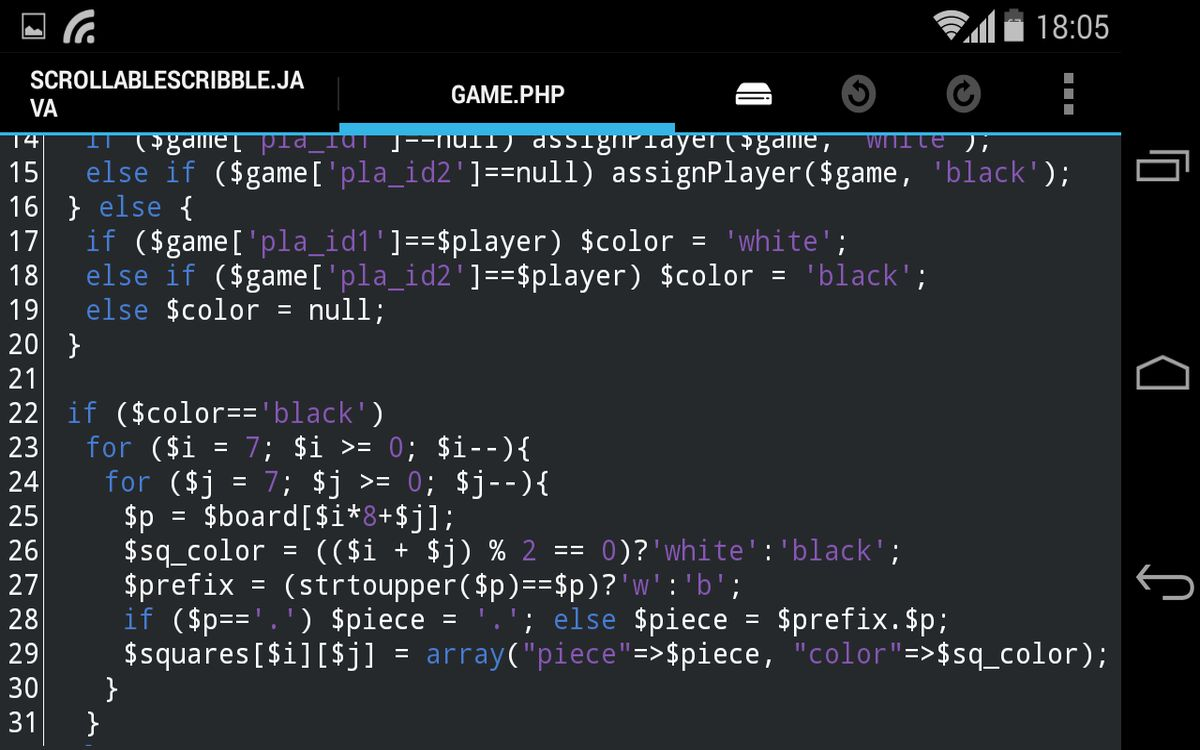Best Code Text Editors For Android With Syntax Highlighter
