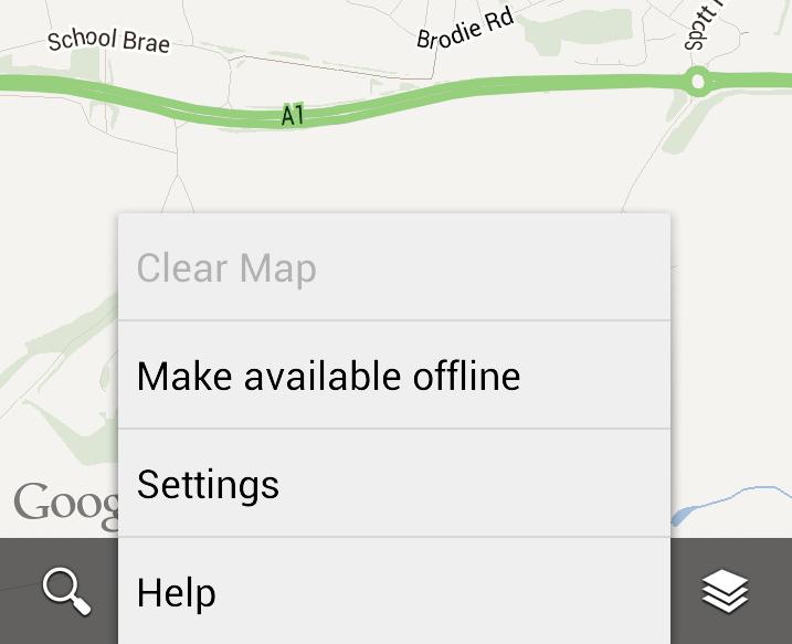 Google-Maps-caching