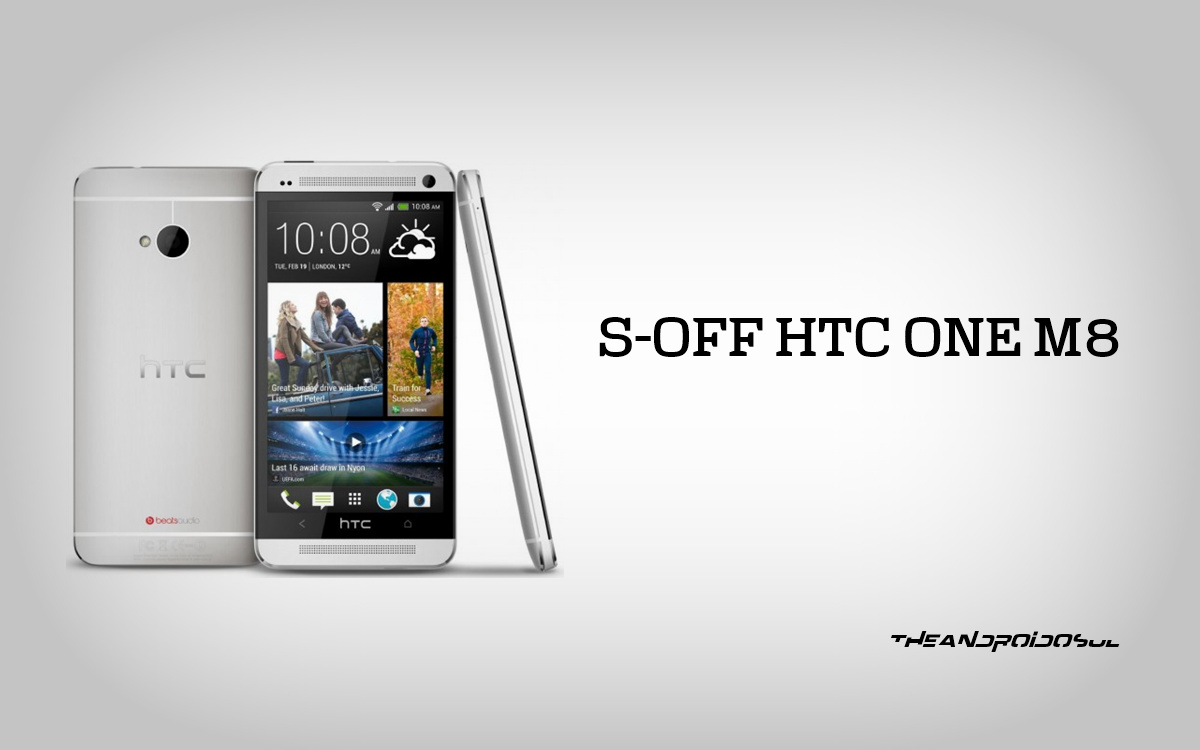 S-Off HTC One M8 using Firewater Binaries – The Android Soul