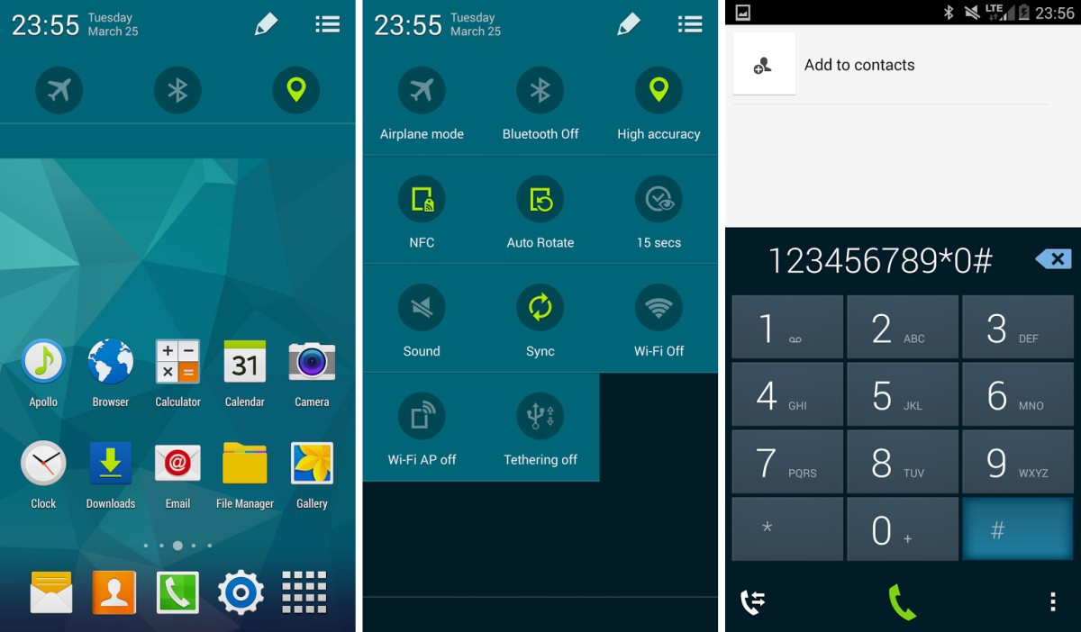 how to change galaxy s5 theme
