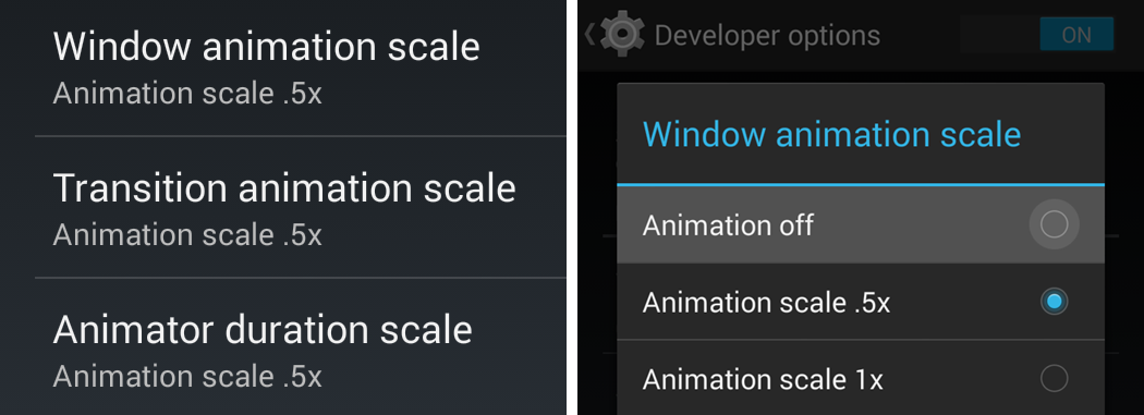 Disable-Animation-on-Android-4.0-and-above