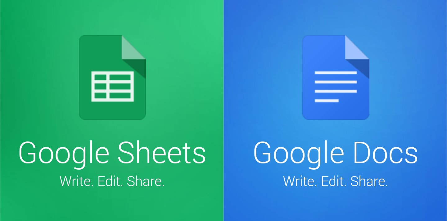 Google releases standalone Google Docs and Sheets apps for ...