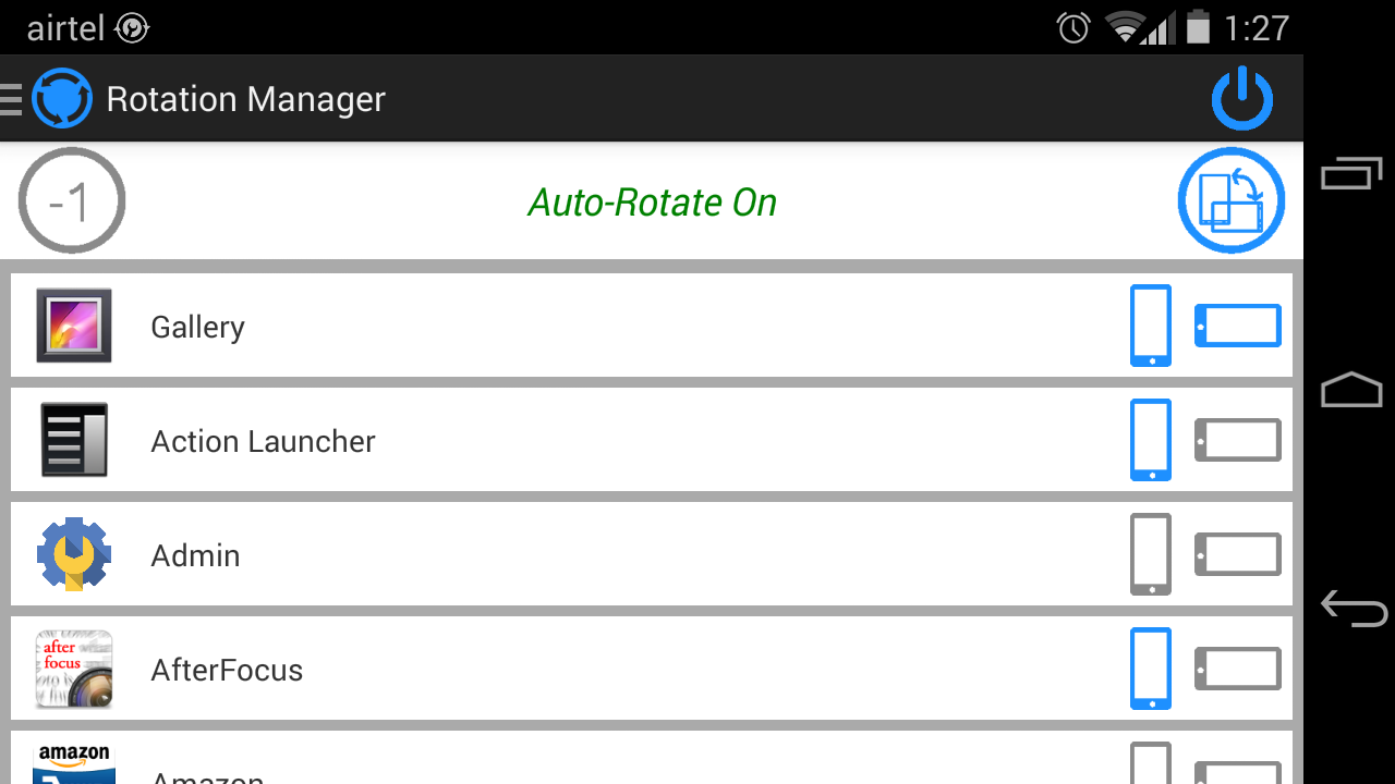 Rotation-manager