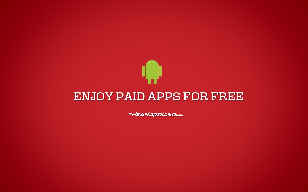 Get paid apps for free android