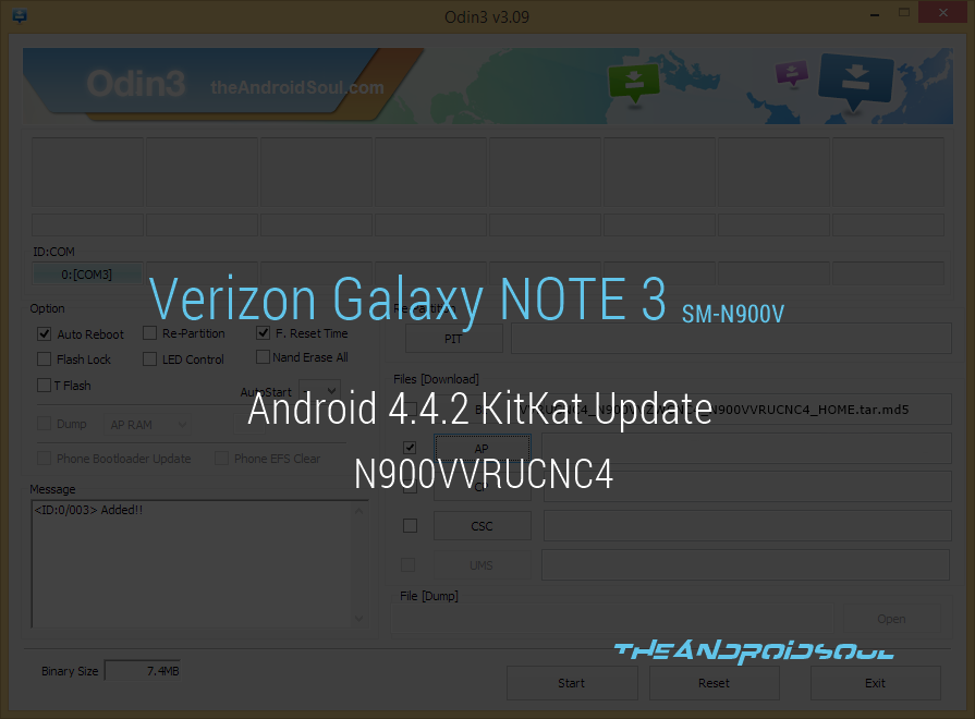 N900VVRUCNC4: Verizon Galaxy Note 3 Android 4 4 2 KitKat Finally