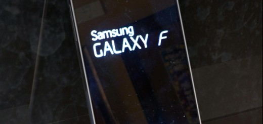 Samsung Galaxy F Leaked Image