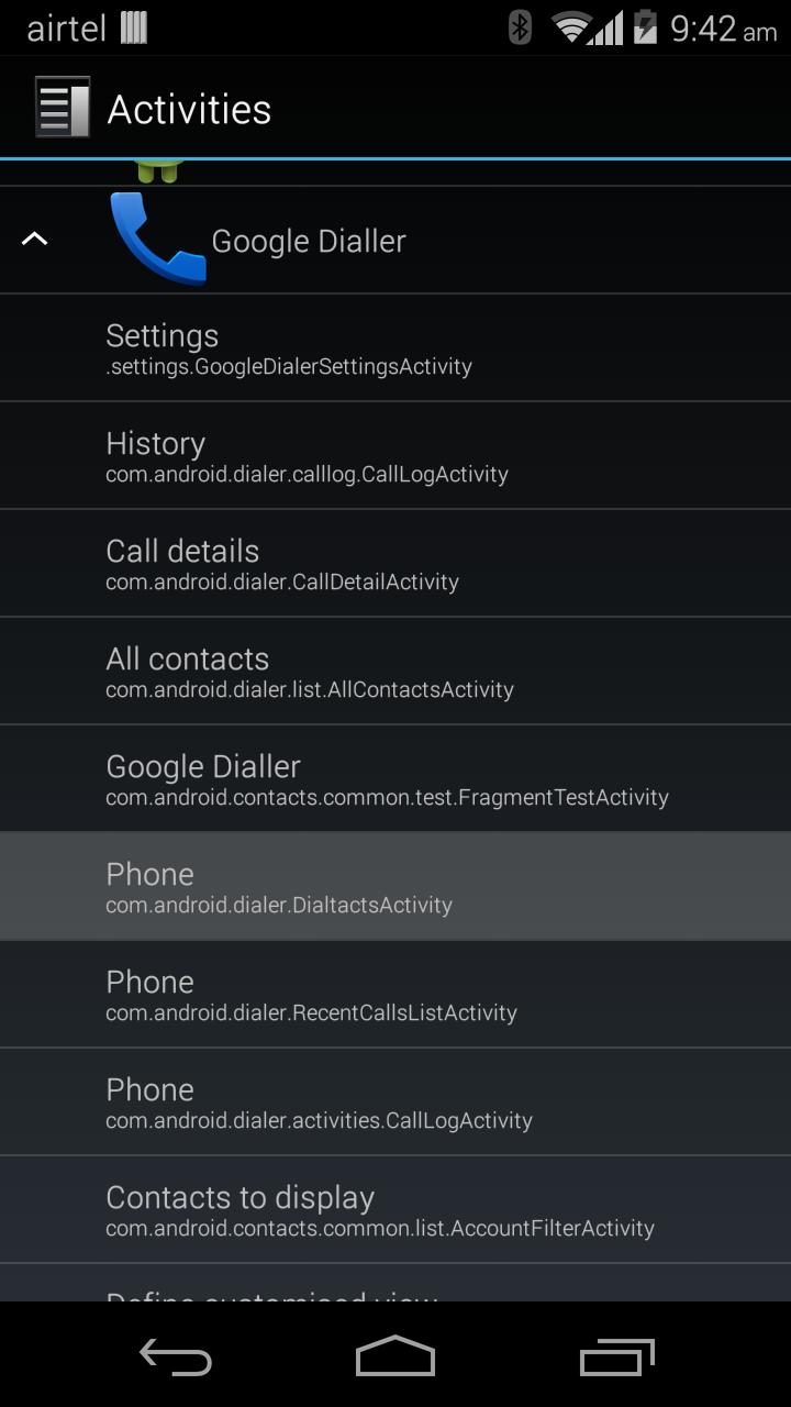 Download Google Dialer APK v1 1 from Android 4 4 3