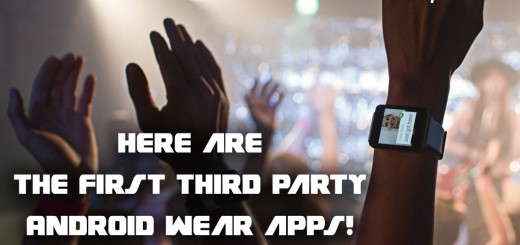 android wear third party apps