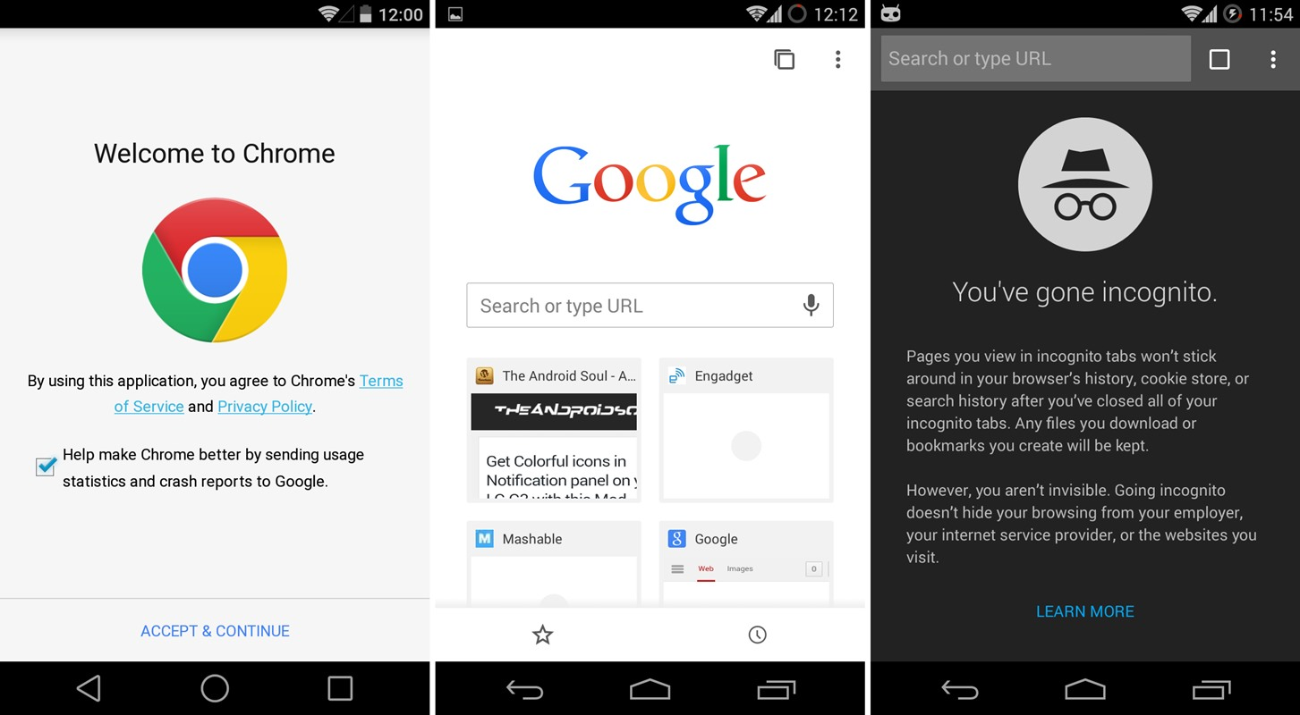 apk chrome beta for android gets material design update