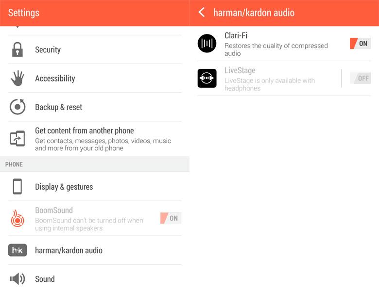 HTC One M8 harmon-kardon sound mod