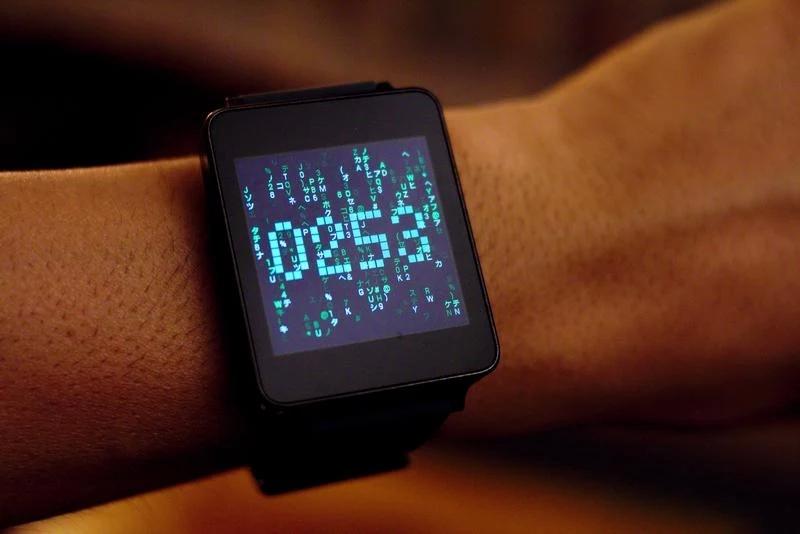 Matrix Watch Face