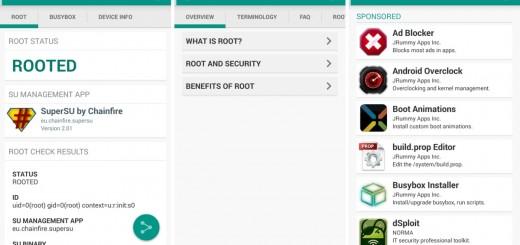 Root Check Phone UI